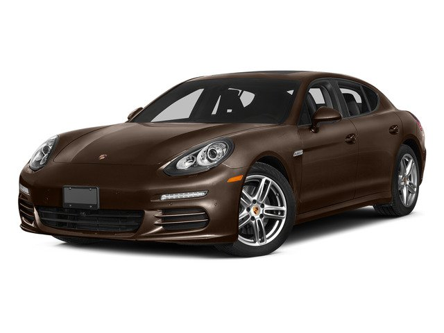 Cognac Metallic 2015 Porsche Panamera Pictures Panamera Hatchback 4D S Exec AWD V8 Turbo photos front view