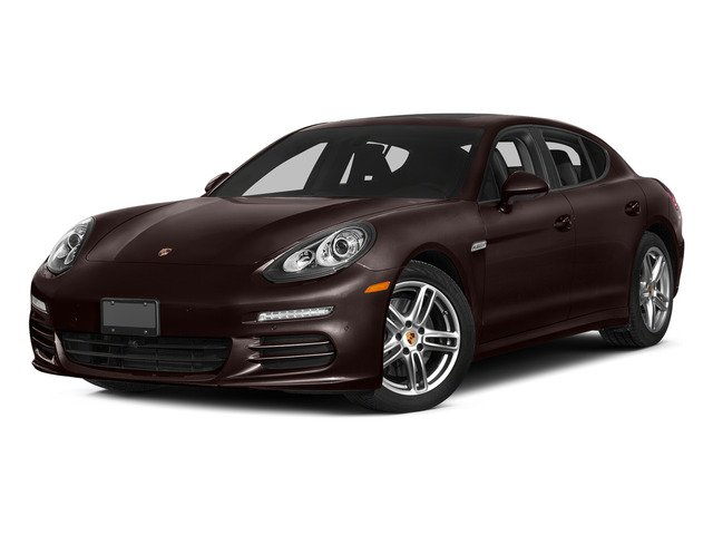 Mahogany Metallic 2015 Porsche Panamera Pictures Panamera Hatchback 4D S Exec AWD V8 Turbo photos front view