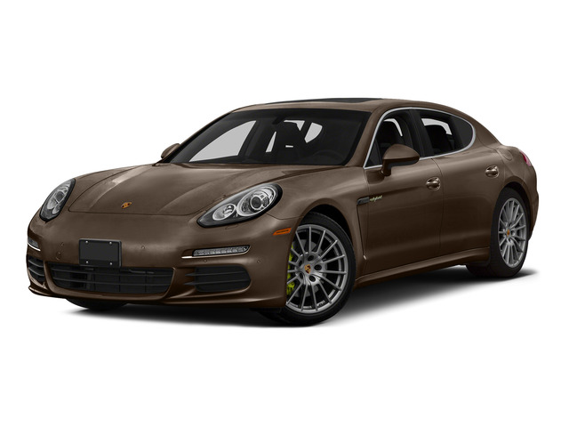 Chestnut Brown Metallic 2015 Porsche Panamera Pictures Panamera Hatchback 4D S e-Hybrid V6 photos front view