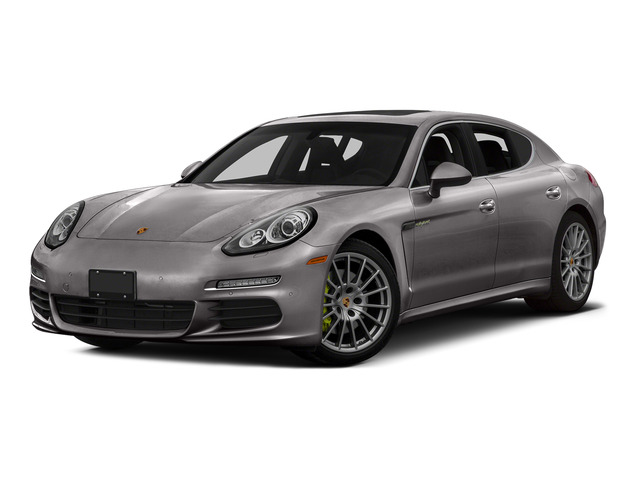 Agate Gray Metallic 2015 Porsche Panamera Pictures Panamera Hatchback 4D S e-Hybrid V6 photos front view