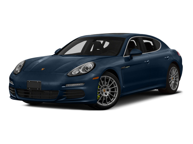 Dark Blue Metallic 2015 Porsche Panamera Pictures Panamera Hatchback 4D S e-Hybrid V6 photos front view