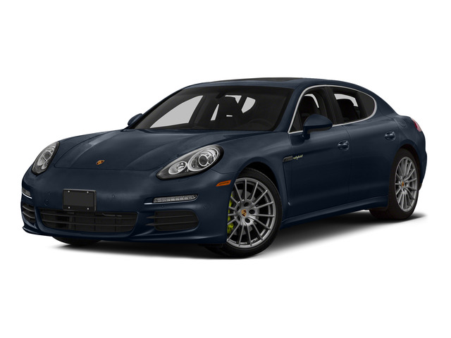 Yachting Blue Metallic 2015 Porsche Panamera Pictures Panamera Hatchback 4D S e-Hybrid V6 photos front view