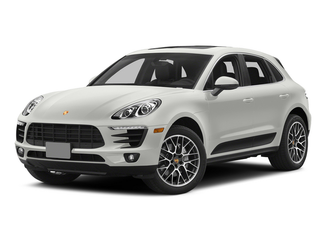 White 2015 Porsche Macan Pictures Macan Utility 4D AWD V6 Turbo photos front view