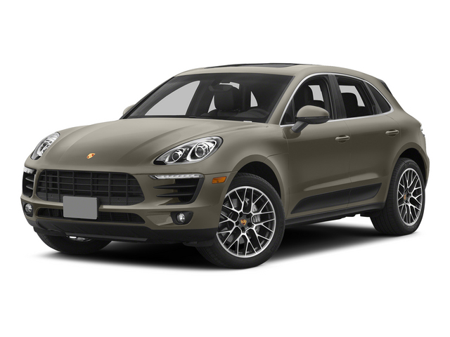 Palladium Metallic 2015 Porsche Macan Pictures Macan Utility 4D AWD V6 Turbo photos front view