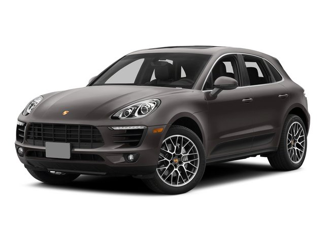 Agate Gray Metallic 2015 Porsche Macan Pictures Macan Utility 4D AWD V6 Turbo photos front view