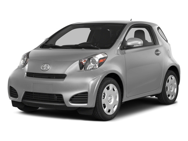 Classic Silver Metallic 2015 Scion iQ Pictures iQ Hatchback 3D I4 photos front view
