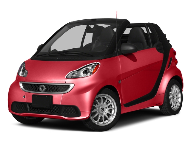 Rally Red 2015 smart fortwo Pictures fortwo Convertible 2D Passion I3 photos front view