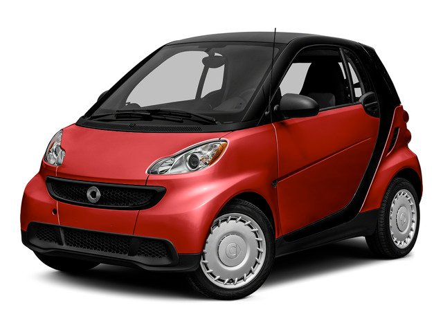 Rally Red 2015 smart fortwo Pictures fortwo Coupe 2D Pure I3 photos front view