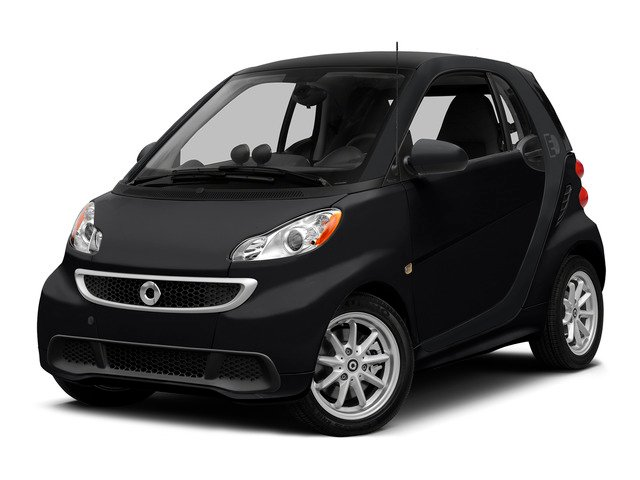 Deep Black 2015 smart fortwo electric drive Pictures fortwo electric drive Coupe 2D Electric photos front view