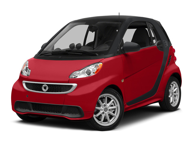 Rally Red 2015 smart fortwo electric drive Pictures fortwo electric drive Coupe 2D Electric photos front view