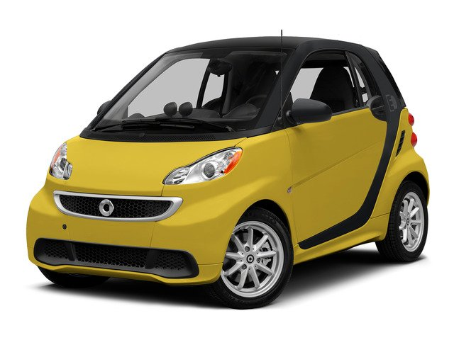 Clear Flame Yellow 2015 smart fortwo electric drive Pictures fortwo electric drive Coupe 2D Electric photos front view