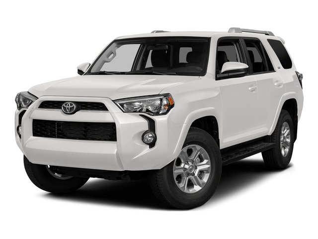 Super White 2015 Toyota 4Runner Pictures 4Runner Utility 4D Trail Edition 4WD V6 photos front view