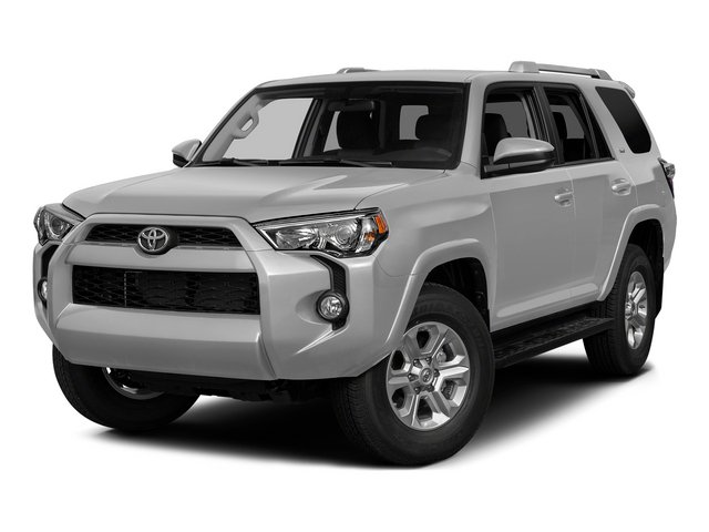 Classic Silver Metallic 2015 Toyota 4Runner Pictures 4Runner Utility 4D Trail Edition 4WD V6 photos front view