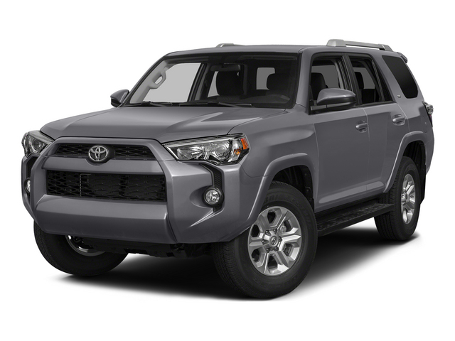 Magnetic Gray Metallic 2015 Toyota 4Runner Pictures 4Runner Utility 4D Trail Edition 4WD V6 photos front view