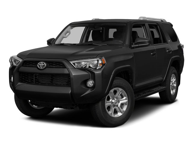Attitude Black Metallic 2015 Toyota 4Runner Pictures 4Runner Utility 4D Trail Edition 4WD V6 photos front view