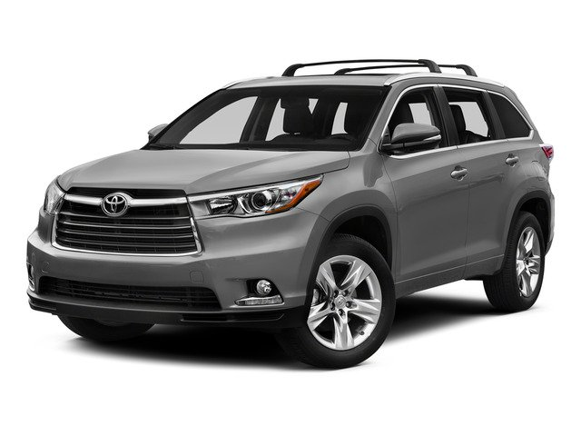 Silver Sky Metallic 2015 Toyota Highlander Pictures Highlander Utility 4D LE 2WD I4 photos front view