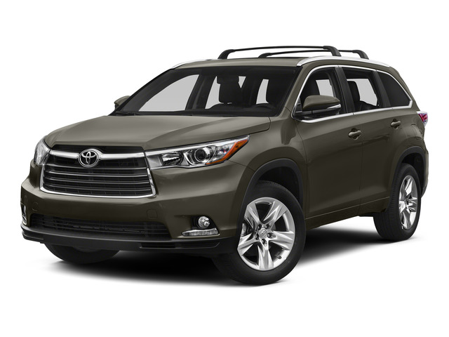 Predawn Gray Mica 2015 Toyota Highlander Pictures Highlander Utility 4D Limited 2WD V6 photos front view