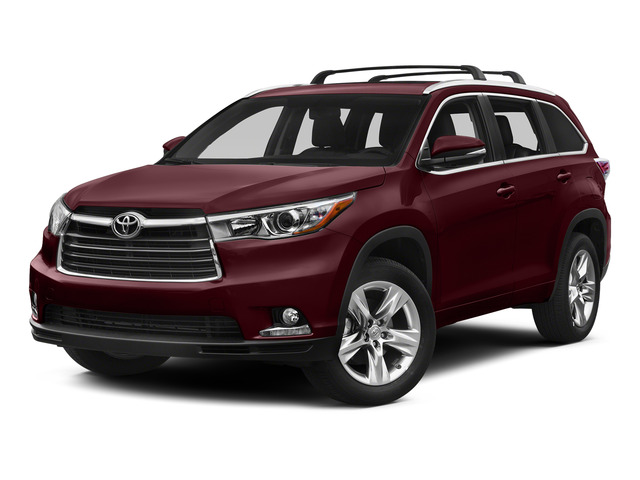 Ooh La La Rouge Mica 2015 Toyota Highlander Pictures Highlander Utility 4D LE 2WD I4 photos front view