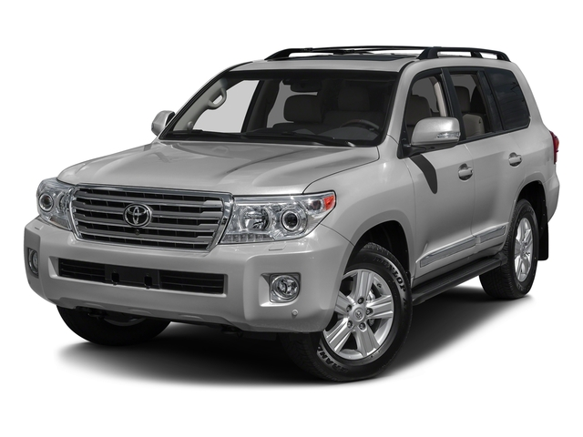 Classic Silver Metallic 2015 Toyota Land Cruiser Pictures Land Cruiser Utility 4D 4WD V8 photos front view