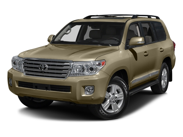 Sonora Gold Pearl 2015 Toyota Land Cruiser Pictures Land Cruiser Utility 4D 4WD V8 photos front view
