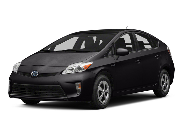 Winter Gray Metallic 2015 Toyota Prius Pictures Prius Liftback 5D Five I4 Hybrid photos front view