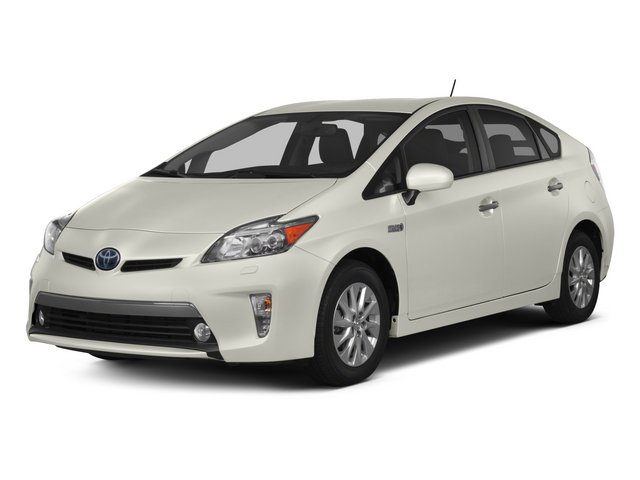 Blizzard Pearl 2015 Toyota Prius Plug-In Pictures Prius Plug-In Liftback 5D Plug-In I4 Hybrid photos front view