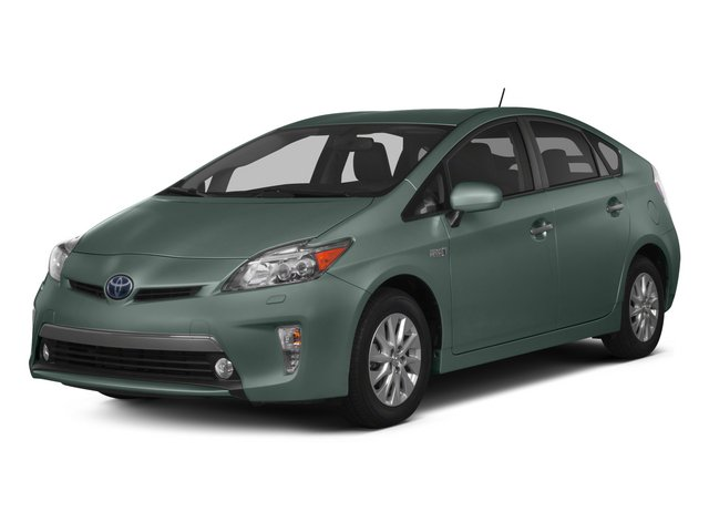 Sea Glass Pearl 2015 Toyota Prius Plug-In Pictures Prius Plug-In Liftback 5D Plug-In I4 Hybrid photos front view