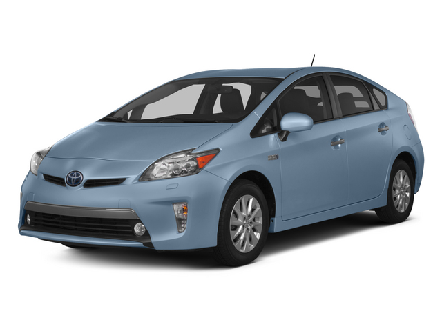 Clearwater Blue Metallic 2015 Toyota Prius Plug-In Pictures Prius Plug-In Liftback 5D Plug-In I4 Hybrid photos front view
