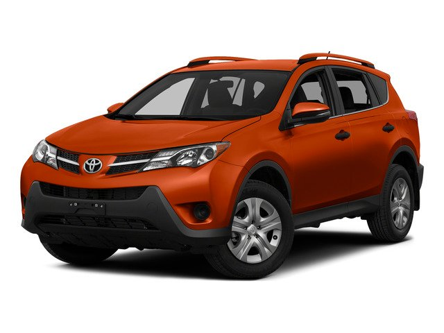Hot Lava 2015 Toyota RAV4 Pictures RAV4 Utility 4D LE AWD I4 photos front view