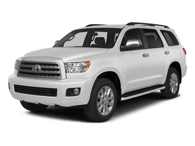 Super White 2015 Toyota Sequoia Pictures Sequoia Utility 4D Limited 2WD V8 photos front view