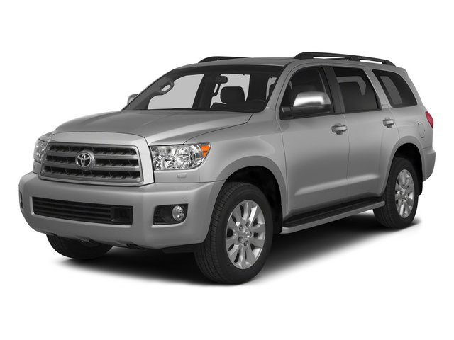 Silver Sky Metallic 2015 Toyota Sequoia Pictures Sequoia Utility 4D Limited 2WD V8 photos front view