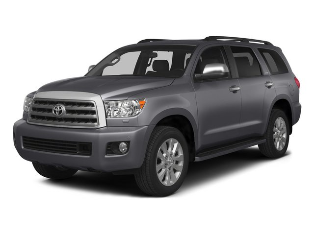 Magnetic Gray Metallic 2015 Toyota Sequoia Pictures Sequoia Utility 4D Limited 2WD V8 photos front view