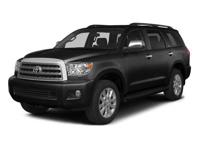 Black 2015 Toyota Sequoia Pictures Sequoia Utility 4D Limited 2WD V8 photos front view