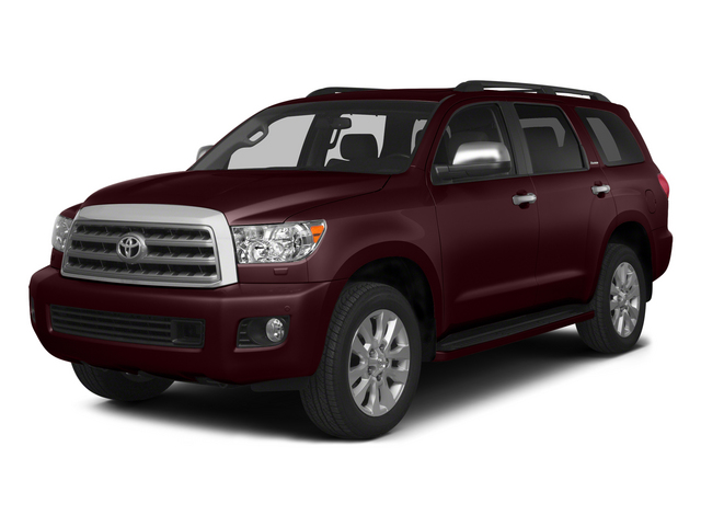 Sizzling Crimson Mica 2015 Toyota Sequoia Pictures Sequoia Utility 4D Limited 2WD V8 photos front view