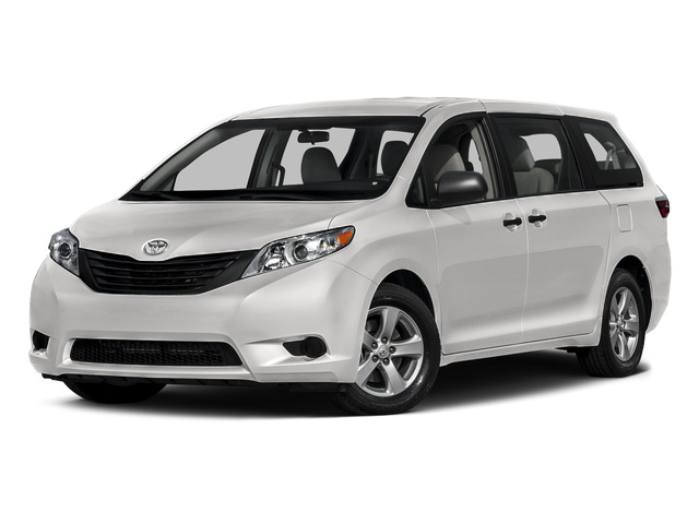 Super White 2015 Toyota Sienna Pictures Sienna Wagon 5D LE V6 photos front view