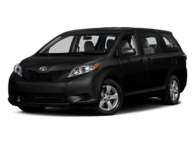 Attitude Black 2015 Toyota Sienna Pictures Sienna Wagon 5D LE V6 photos front view
