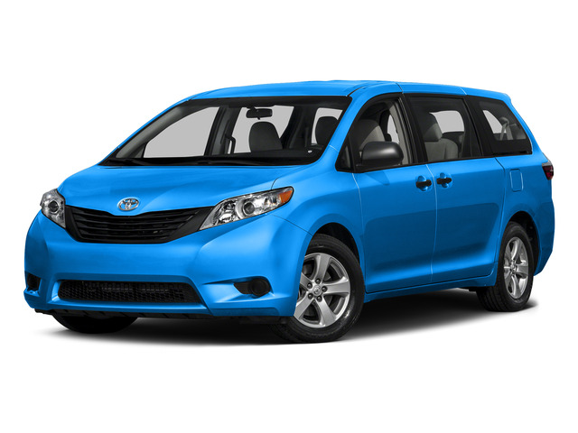 Sky Blue Pearl 2015 Toyota Sienna Pictures Sienna Wagon 5D LE V6 photos front view