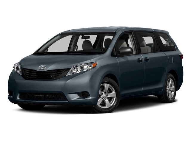 Shoreline Blue Pearl 2015 Toyota Sienna Pictures Sienna Wagon 5D LE V6 photos front view