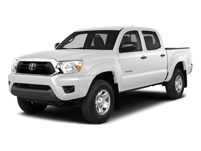 Super White 2015 Toyota Tacoma Pictures Tacoma PreRunner 2WD I4 photos front view