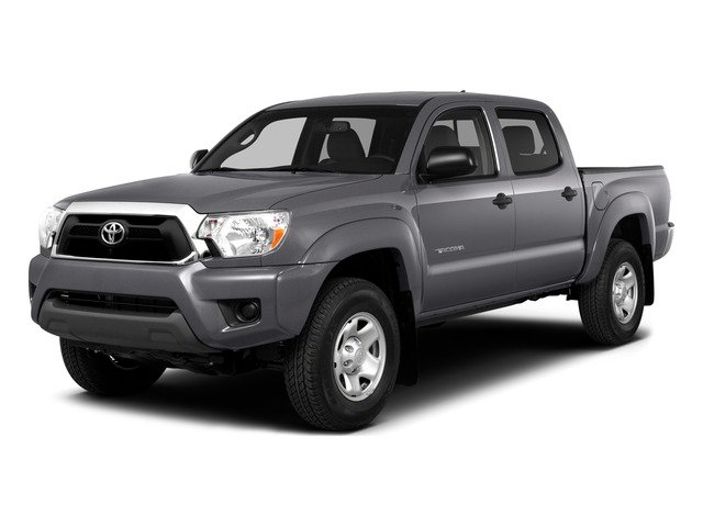 Magnetic Gray Metallic 2015 Toyota Tacoma Pictures Tacoma PreRunner 2WD I4 photos front view