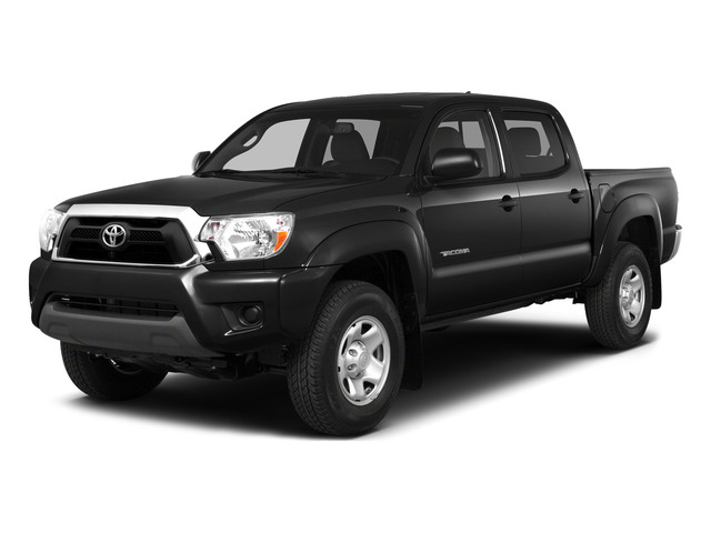 Black 2015 Toyota Tacoma Pictures Tacoma PreRunner 2WD I4 photos front view