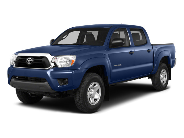 Blue Ribbon Metallic 2015 Toyota Tacoma Pictures Tacoma PreRunner 2WD I4 photos front view