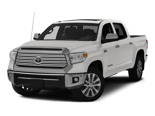 Super White 2015 Toyota Tundra 4WD Truck Pictures Tundra 4WD Truck Limited CrewMax 4WD photos front view