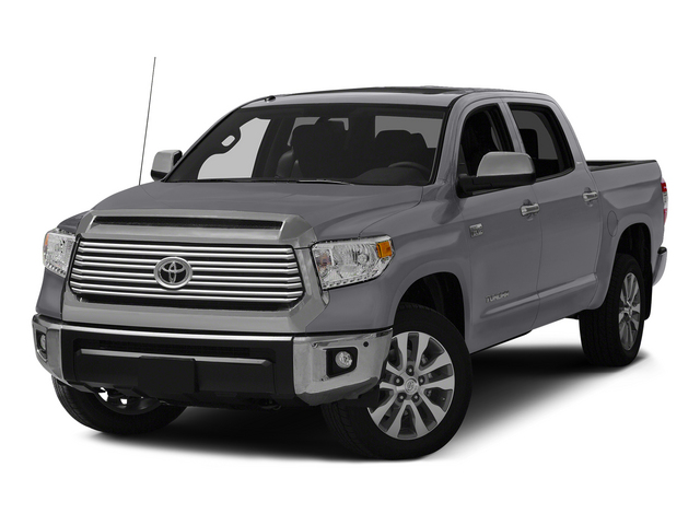 Magnetic Gray Metallic 2015 Toyota Tundra 4WD Truck Pictures Tundra 4WD Truck Limited CrewMax 4WD photos front view