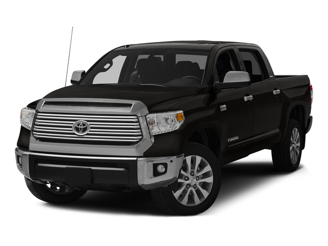 Black 2015 Toyota Tundra 4WD Truck Pictures Tundra 4WD Truck SR5 CrewMax 4WD photos front view