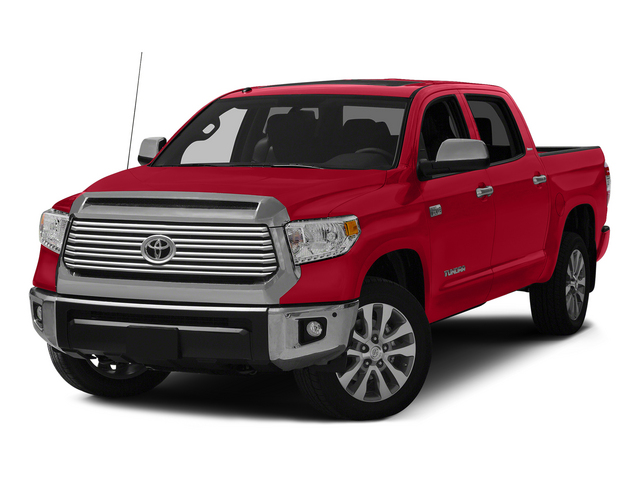 Radiant Red 2015 Toyota Tundra 4WD Truck Pictures Tundra 4WD Truck Limited CrewMax 4WD photos front view