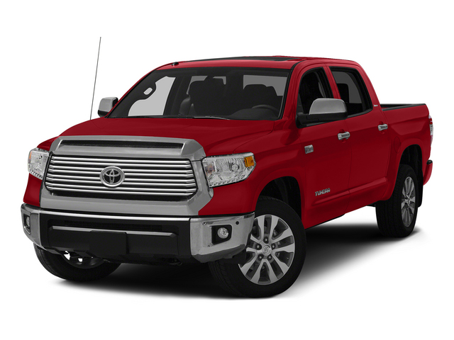 Barcelona Red Metallic 2015 Toyota Tundra 4WD Truck Pictures Tundra 4WD Truck Limited CrewMax 4WD photos front view