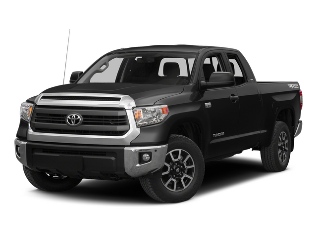 Black 2015 Toyota Tundra 4WD Truck Pictures Tundra 4WD Truck SR5 Double Cab 4WD photos front view
