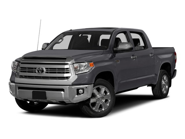 Magnetic Gray Metallic 2015 Toyota Tundra 2WD Truck Pictures Tundra 2WD Truck 1794 Edition Crew Cab 2WD photos front view