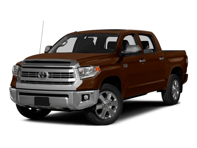 Sunset Bronze Mica 2015 Toyota Tundra 2WD Truck Pictures Tundra 2WD Truck 1794 Edition Crew Cab 2WD photos front view